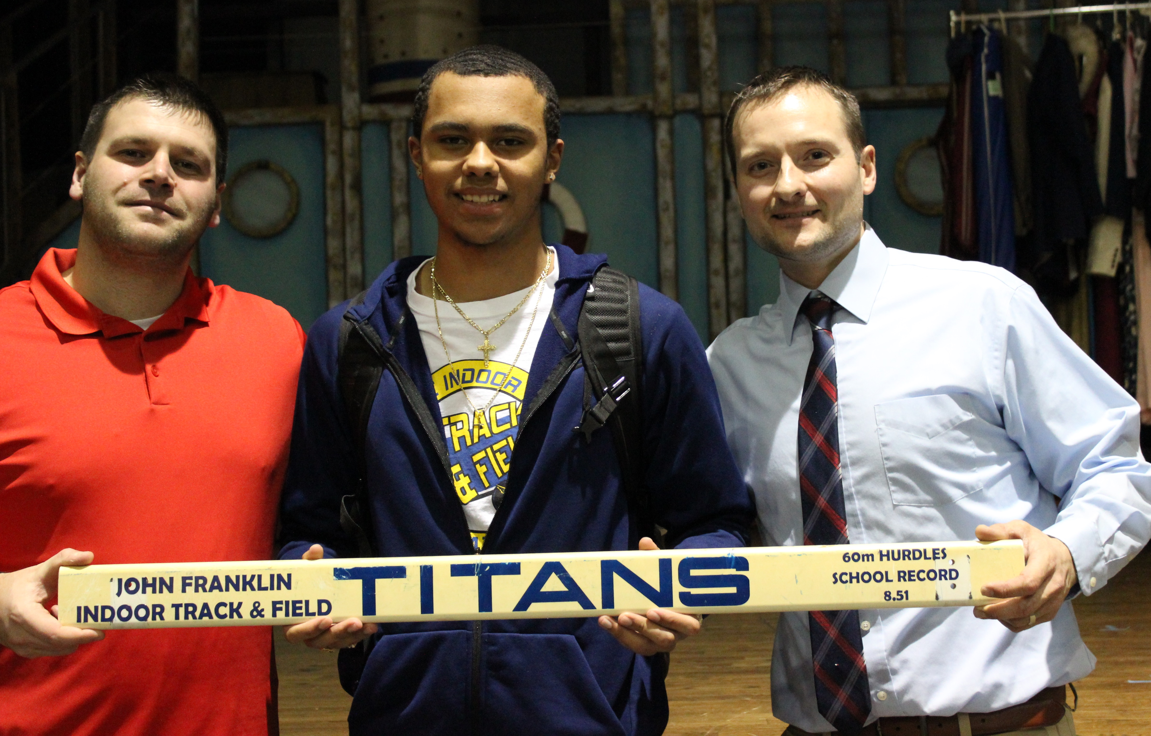 John Franklin wins Athlete of the Month for May
