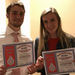 Schreiber and Jashinski honored by NADA for athletic accomplishments