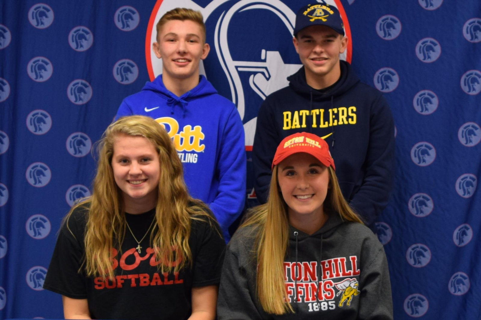 Four Shaler Area students sign National Letters of Intent