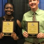 Agbale and Stadelman honored at Big 56 Fall Sports Banquet