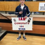 Scarberry Eclipses 100 Win Mark for Career