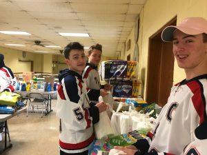 JV Ice Hockey Community Service