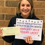 Lacey Wins Athlete Of The Month