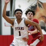 Titans Boys BB Comes Up Short vs. Meadville