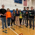 Shaler Area unified bocce team advances to state championships and Peggy Finnegan visits team.