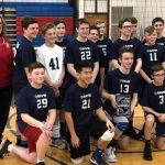 "SA BOYS JR HIGH VOLLEYBALL ""WINS AND SHOWS"" AT SHALER AREA TOURNAMENT"