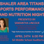 Nutrition and Sports Performance Night at Shaler Area