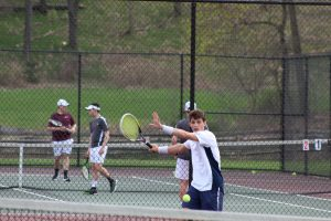 Boys Tennis vs Ambridge 4/17