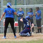 MS Softball Blue vs Woodland Hills 4/17