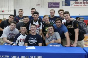 Signing Day For 15 Athletes 5/16