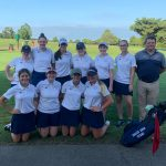 BAM!  Right Out Of The Gates Girls Golf Team Scores Victory
