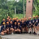 Shaler Girls Soccer Team Building at Camp Guyasuta