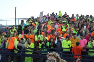 Neon Students Light Up a Titan Victory 10/4
