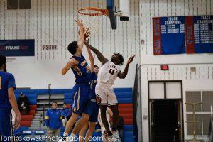 Boys  V. Basketball v Hampton 1/4