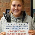 Claire Grunden Wins Athlete Of The Month