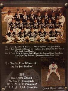 1980 Baseball PIAA Champs