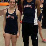 Senior Spring Athlete Spotlight #2:  Maddie Bartosh & Cam Mbalo