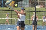 Wilkins steps into No. 1 singles role for Shaler Area tennis