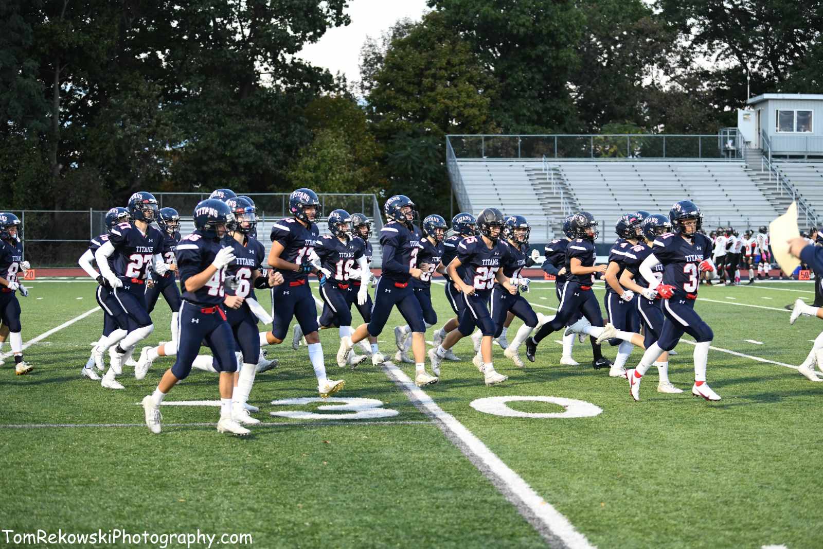 Varsity FB vs FXC 10/2