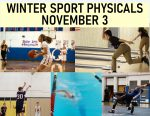 Physicals For Winter Athletes November 3rd