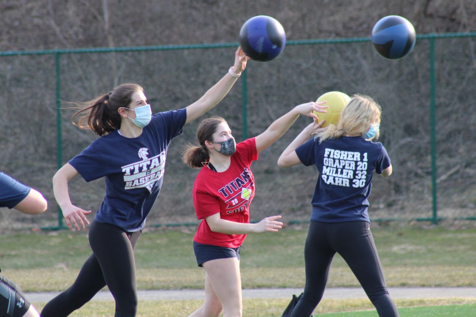Spring Is In The Air – SA Teams Take To The Fields, Courts, Track, Weightroom To Get Ready