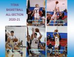 Five Titans Named To All-Section Basketball Teams