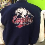 Anthem Prep varsity jacket.