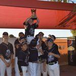 Logan Deskin Dominates Veritas in Championship Game 9-1