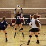 Girls Junior Varsity Volleyball falls to Trivium Prep 2-1