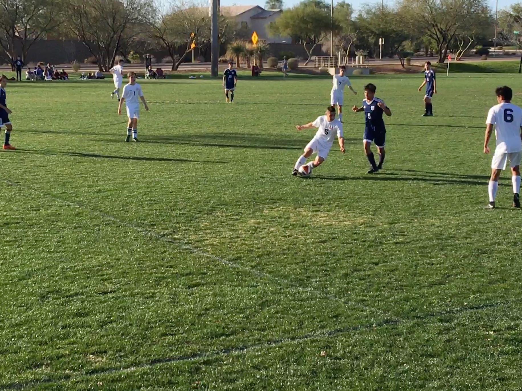 HS Boys Soccer Fall to Glendale Prep 4-0