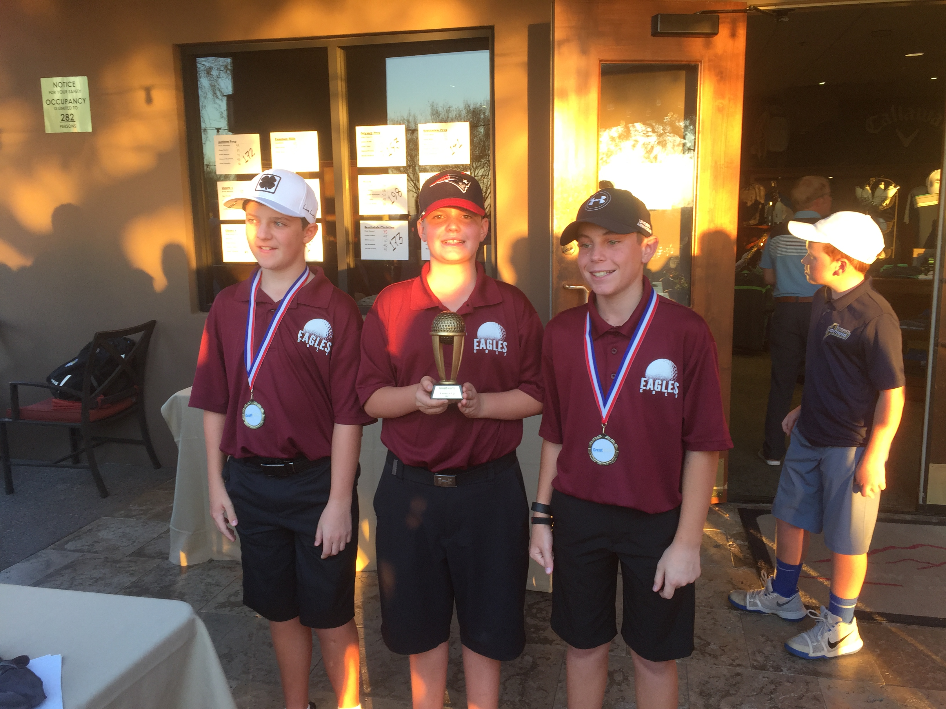 MS Golf Takes 2nd in Championship