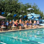 Varisty Boys and Girls at Wickenburg with Wickenburg and Cactus HS Swim meet