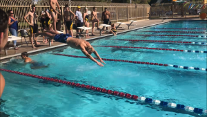 Varsity Boys and Girls Meet at Roadrunner Pool with  Shadow Mountain