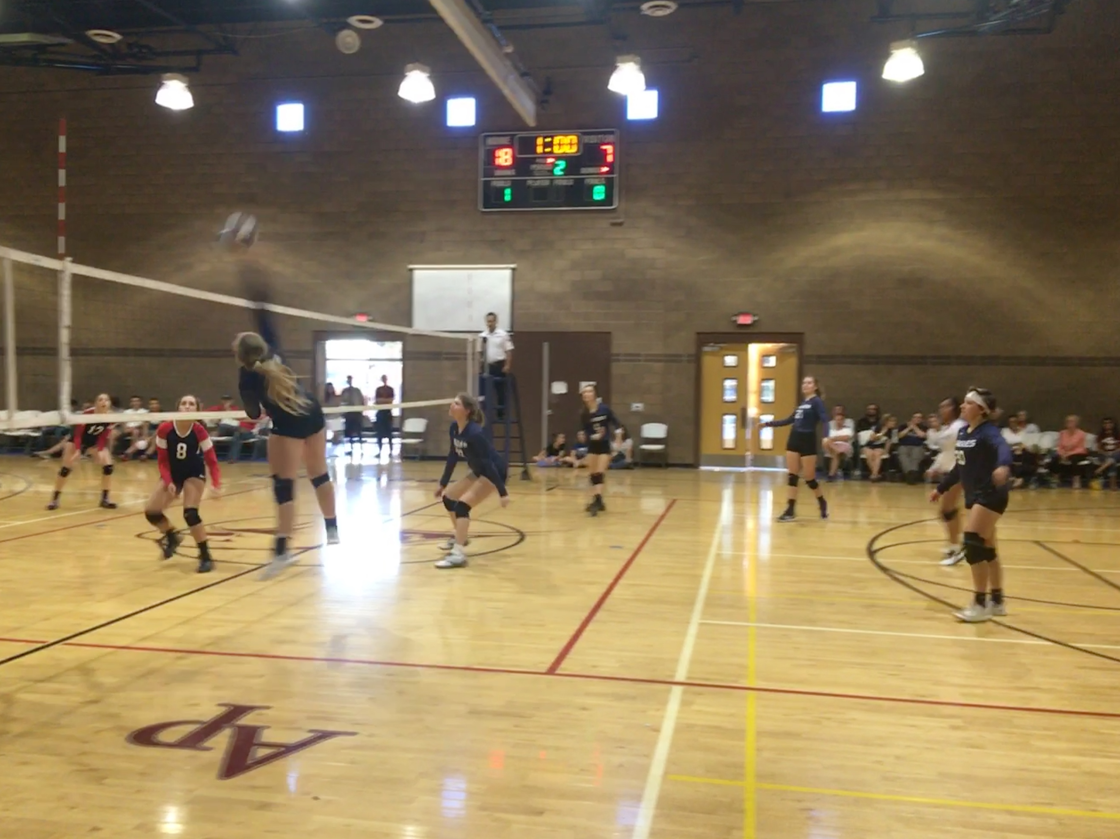 Girls Varsity Volleyball Beats Mohave Accelerated 3 – 0