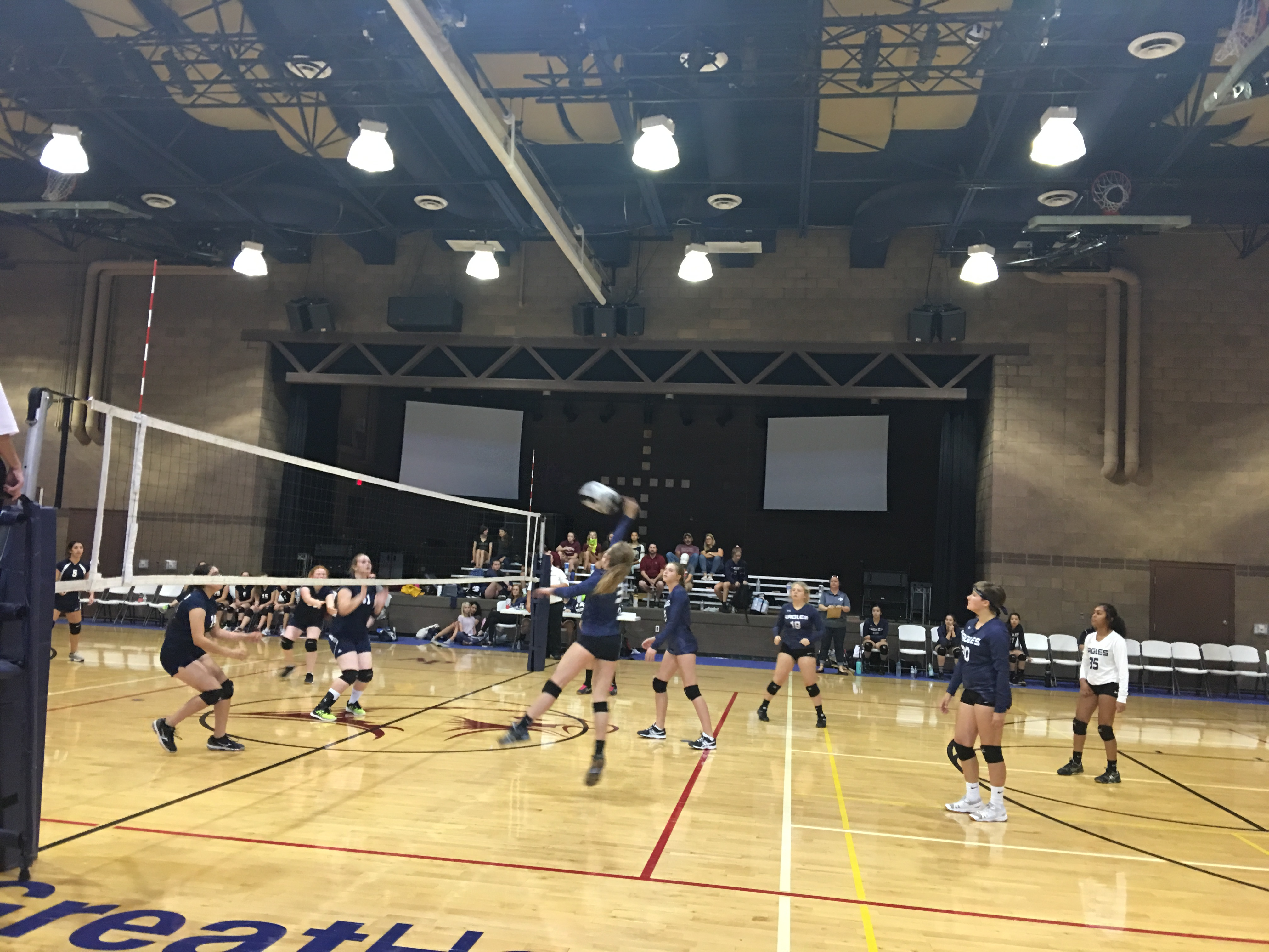High School Volleyball Tryout and Practice Schedule