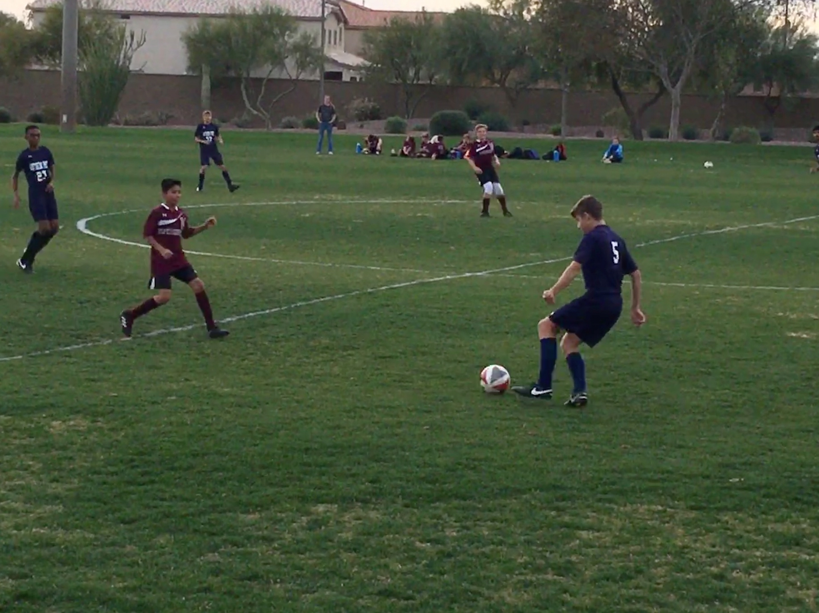 Boys Middle School Soccer earns first victory of 2018/19 season