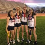 Girls 4x400m Relay Team Takes 1st Place at the 4th Annual Small School Invite