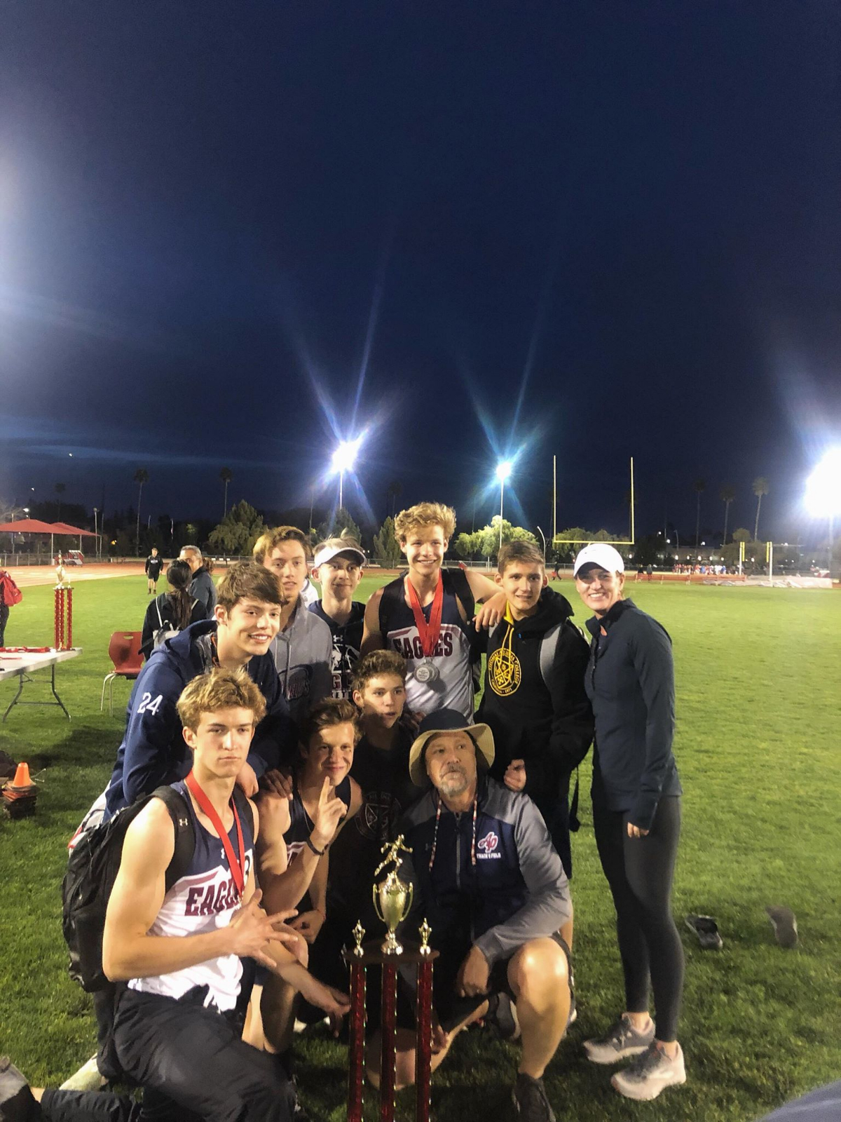 AP Boys Track and Field Dominate Division 4 with a win!