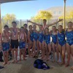 2019 Middle School State Swim Team