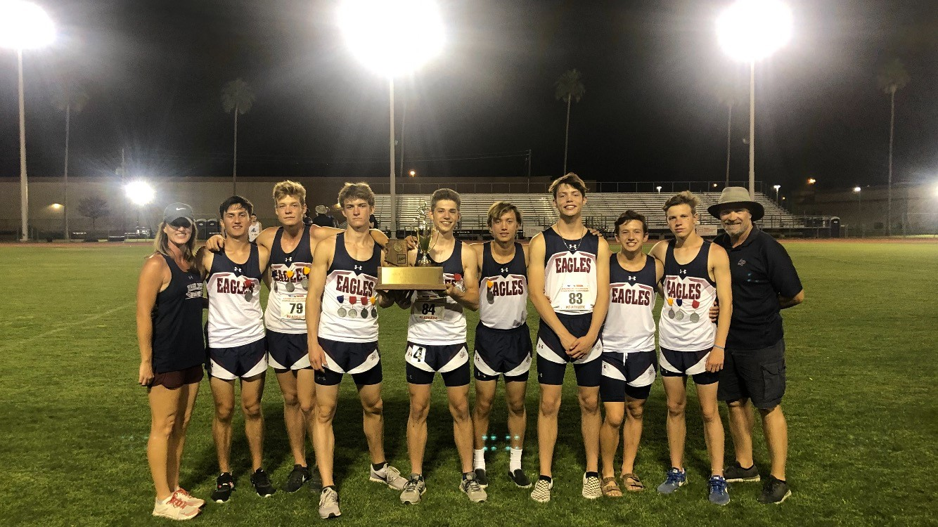 HS Track Team Superb at State With Boys Taking 2nd in State!!!