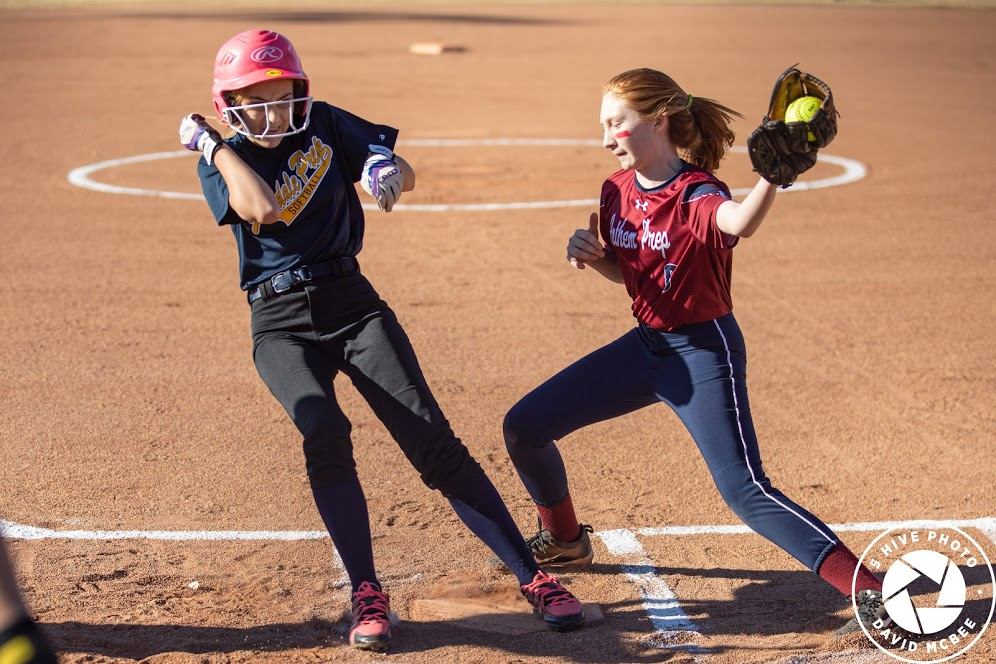 Girls Middle School Softball Stays Undefeated by Beating GPA 12 – 3