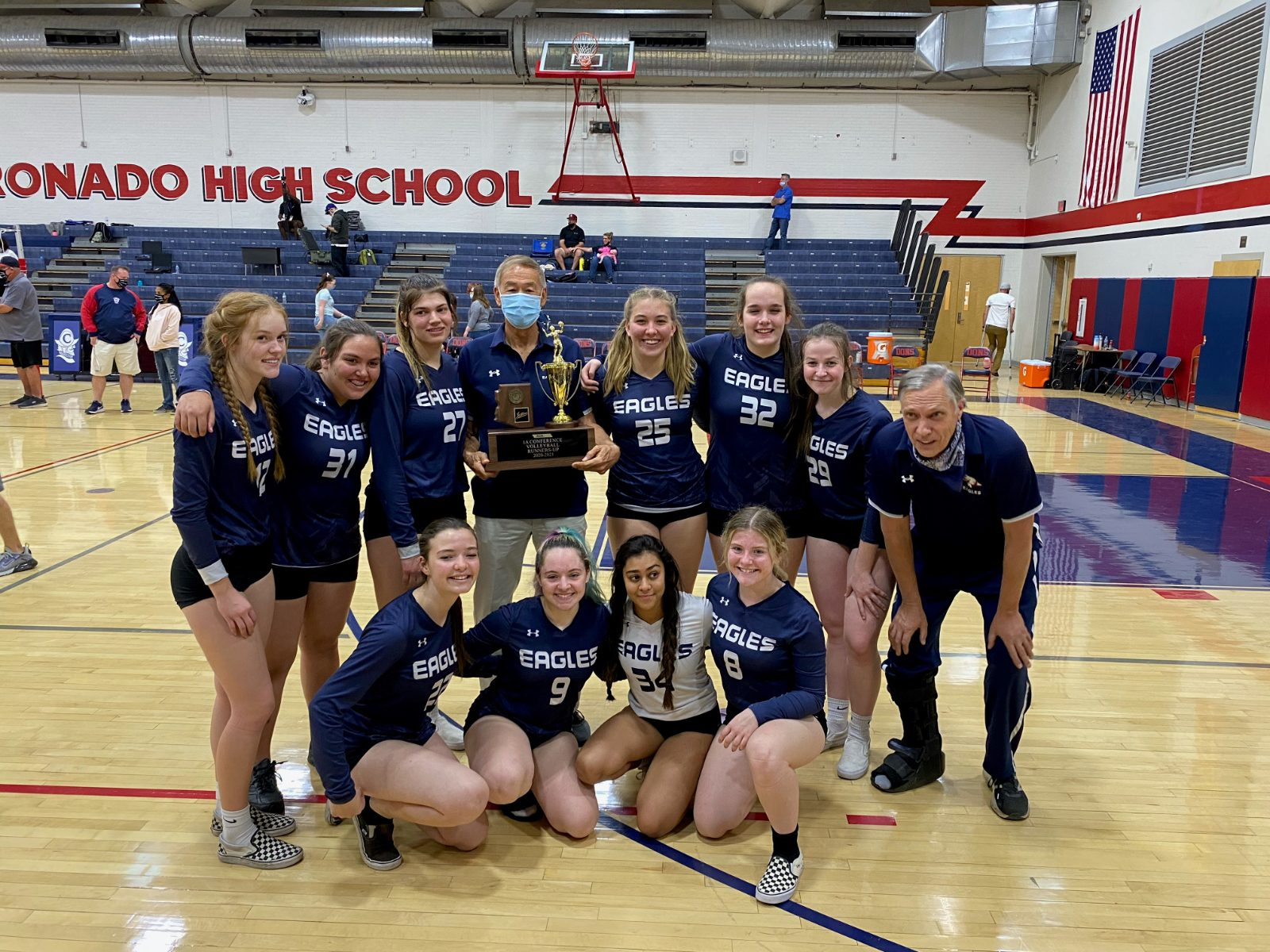 Varsity Volleyball Finishes the Season 2nd in State!!!!!!