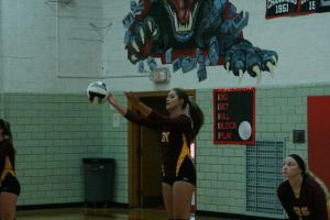 Photos from JV volleyball match vs Norton