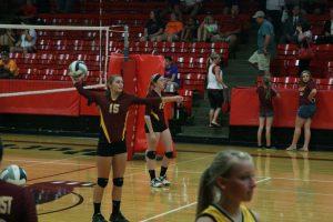 Photos from varsity volleyball match vs Norton