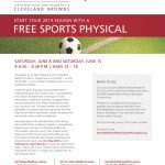 UH Free Sport Physical Saturday June 8th & 15th…Please register Now