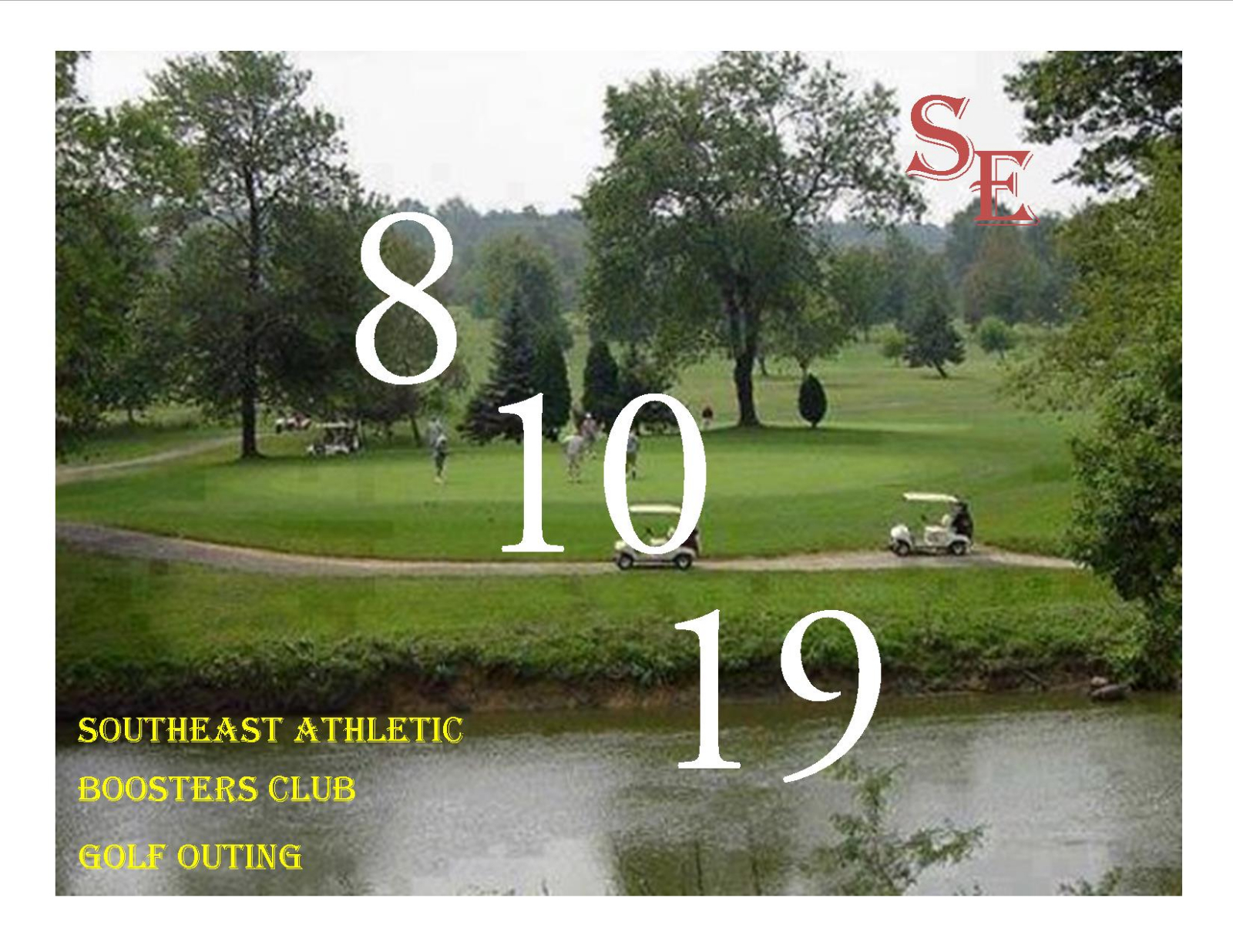 2019 Southeast Athletic Boosters Annual Golf Outing 8.10.2019