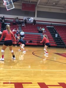 Varsity Volleyball vs North Johnston