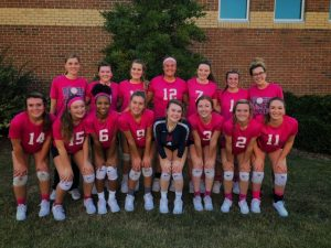 Volleyball Dig Pink Game 10-2-2019