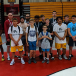 Wrestling Takes on Lock Haven Camp