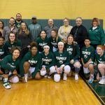 Girls Basketball Celebrates Faculty Appreciation Night